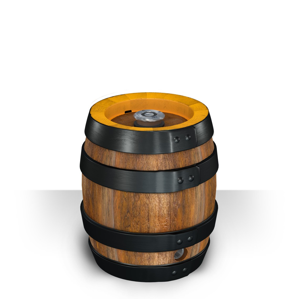 Party barrel - Traditional wooden look